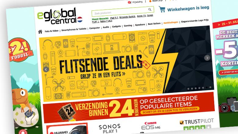 Elektronica kopen bij webshop eGlobal Central: waar moet je rekening mee houden?