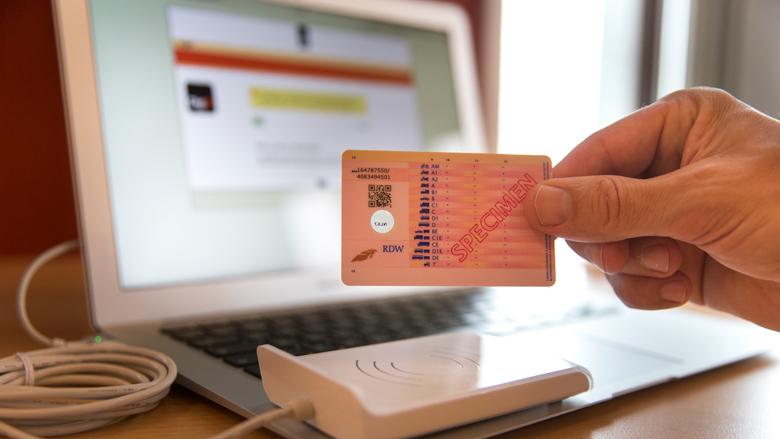 Proef met elektronisch aanvragen rijbewijs