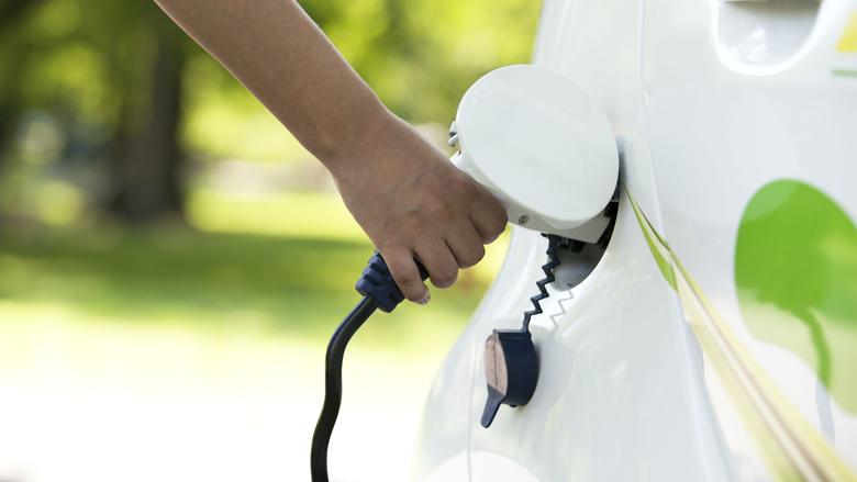 Proef met opladen elektrische auto in daluren