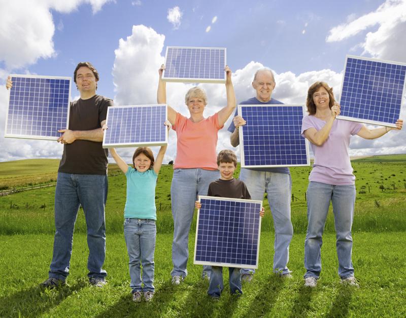 Meer buurtgenoten wekken samen energie op