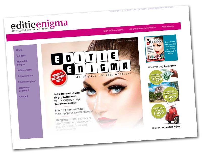 Puzzelmagazine Editie Enigma beboet wegens misleiding