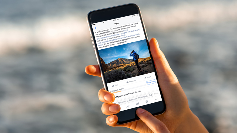 Facebook wil 'sensatiezucht' en 'desinformatie' bestrijden