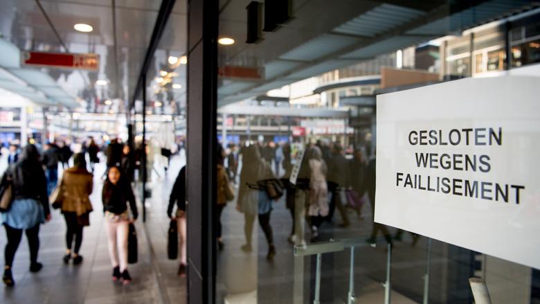 Aantal leegstaande winkelpanden licht gedaald