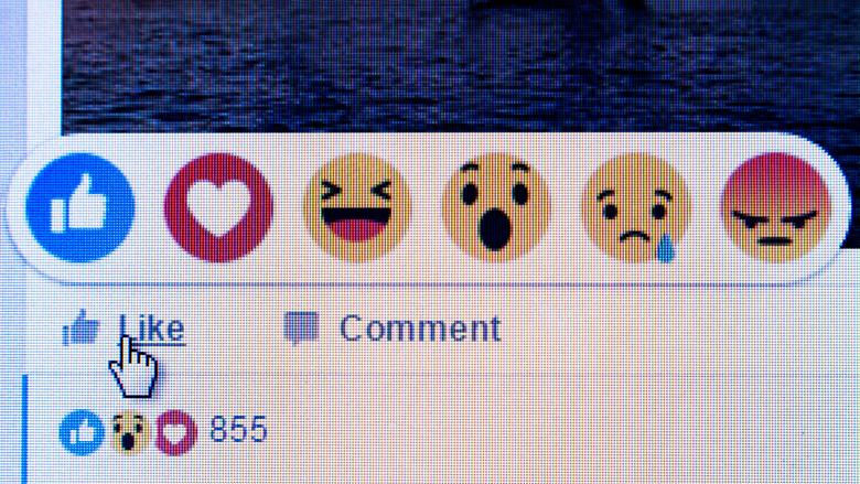 Wat doet Facebook met jouw 'Leuk', 'Geweldig' of 'Boos'?