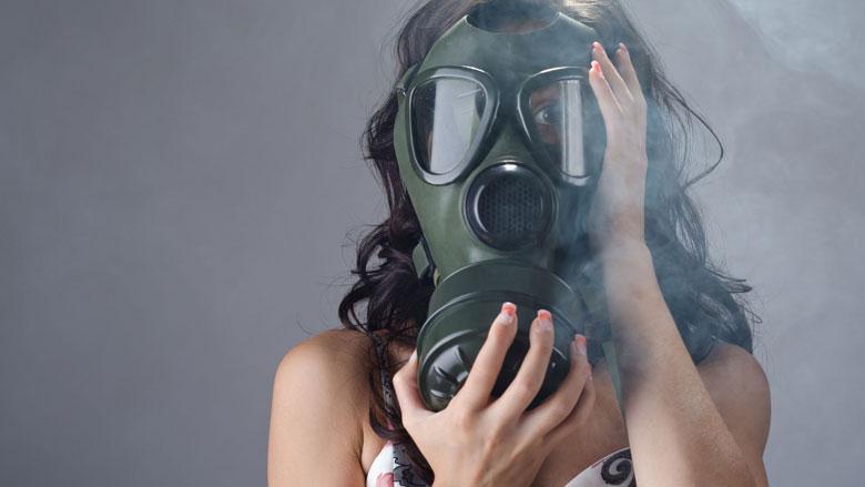 Pas op: mogelijk asbest in gasmaskers