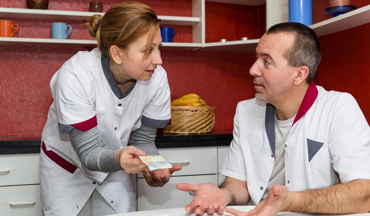 Minder geld voor verpleeghuizen