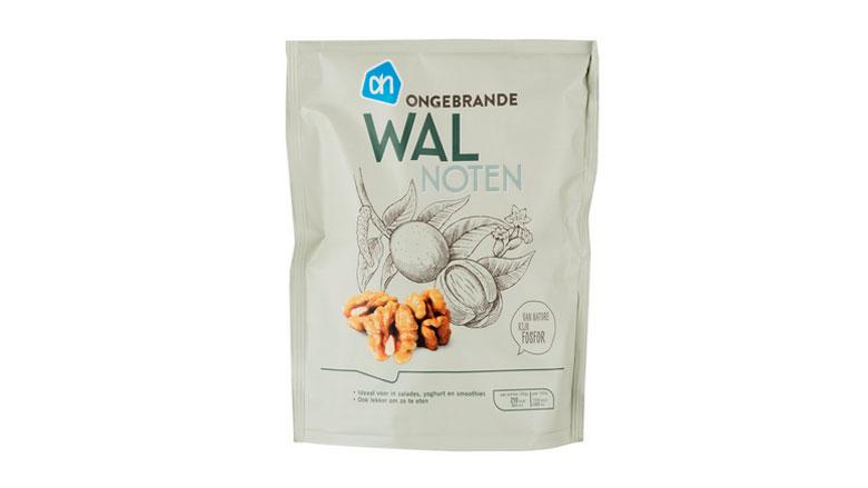 Pas op: gluten en soja bij walnoten Albert Heijn