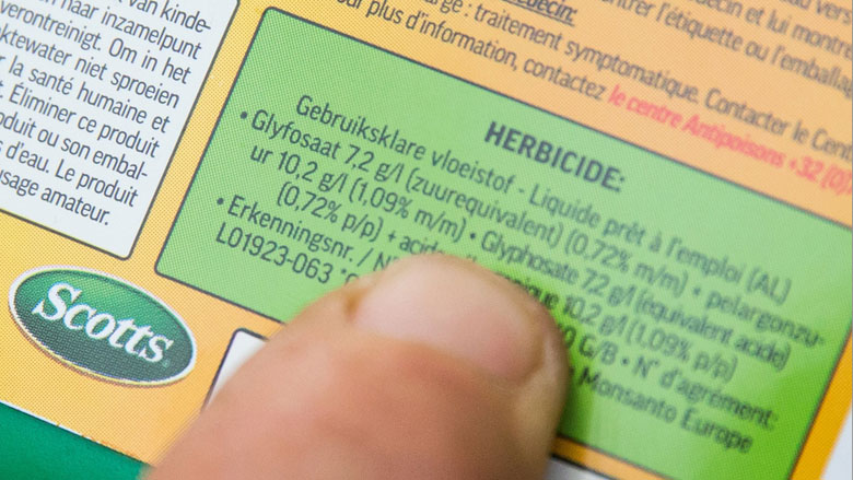 Nog steeds geen besluit over verlengen vergunning glyfosaat