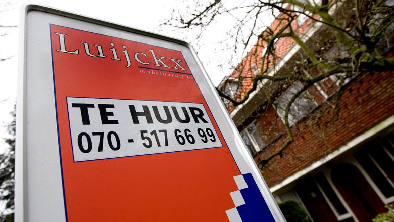 Flinke stijging huurprijzen buiten de Randstad