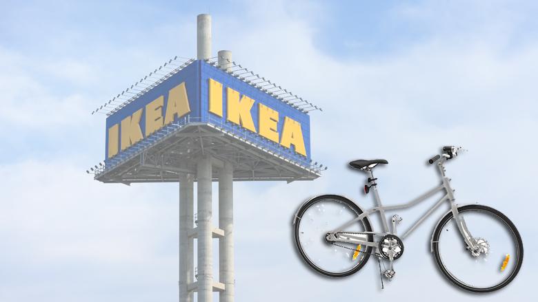 IKEA roept fiets terug