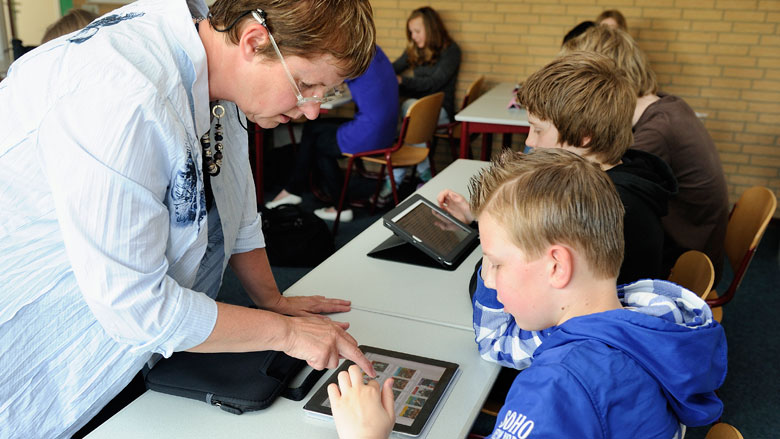 Rotterdamse basisschool beëindigt iPad-onderwijs