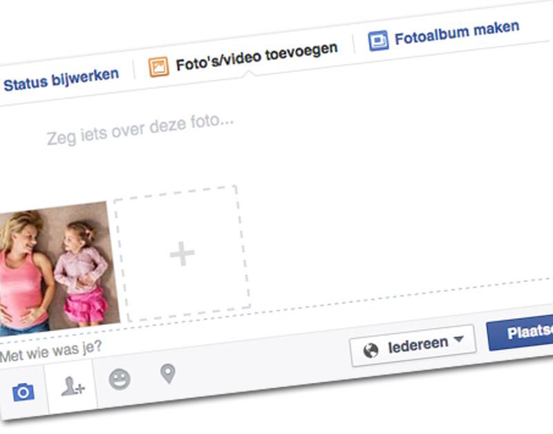 Facebook gaat waarschuwen bij delen kinderfoto's