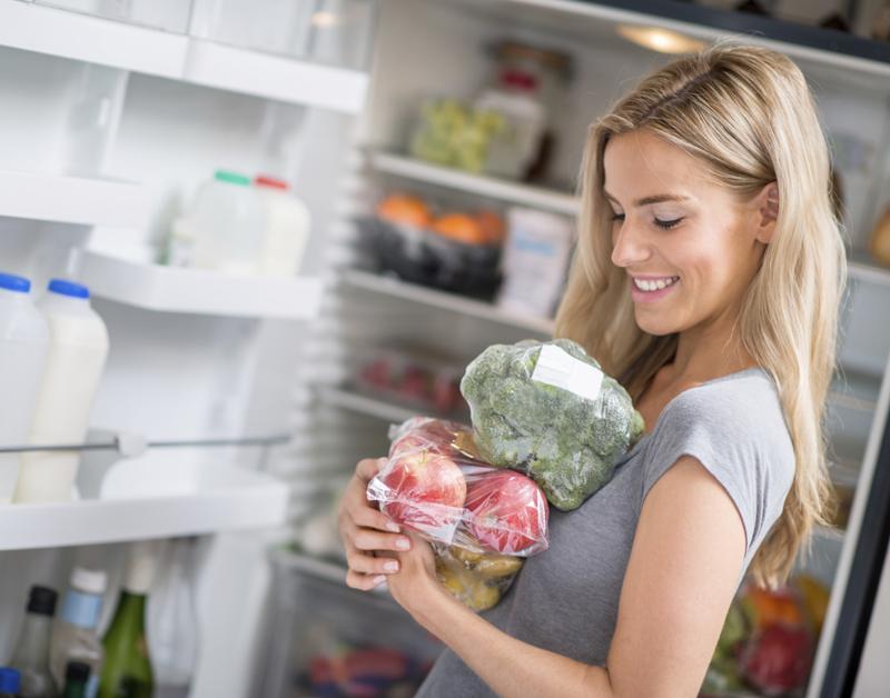 Ja-nee-stickers voor op de koelkast