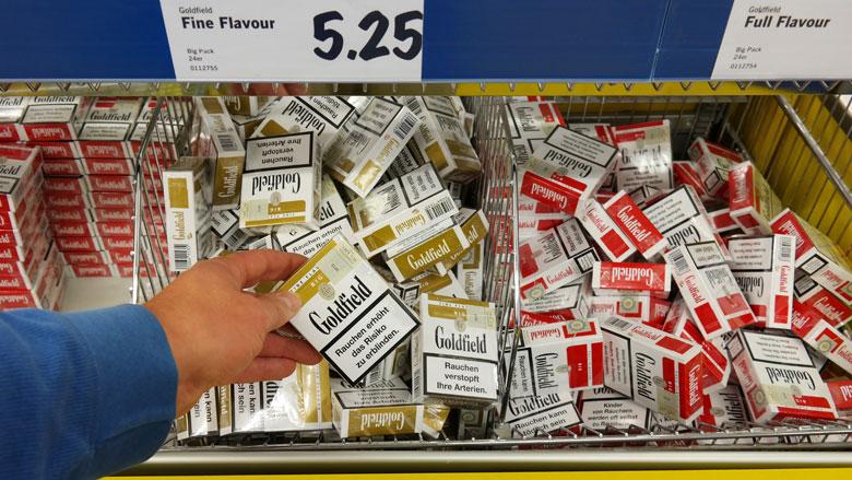 Lidl stopt met verkoop sigaretten