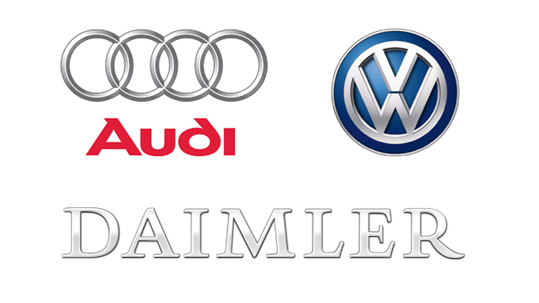Inspecteurs vallen binnen bij Volkswagen, Audi en Daimler