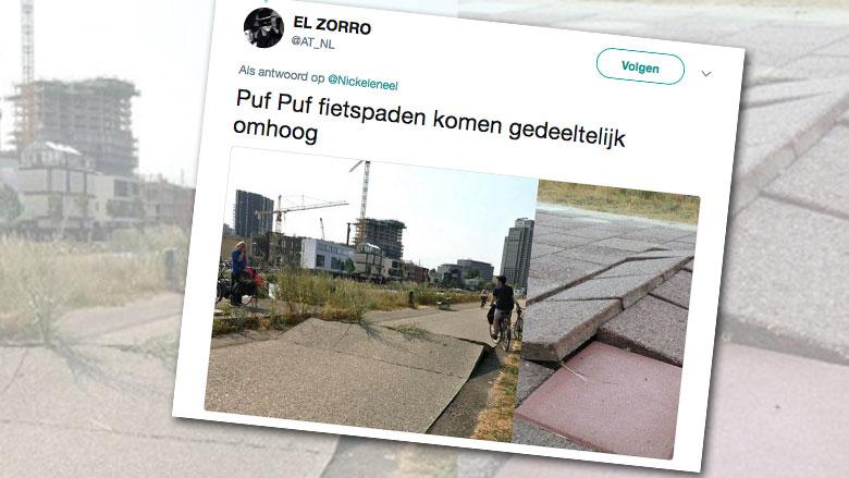 Badkamertegels Komen Los : Ongelukken op fietspad door losgeraakte tegels radar het