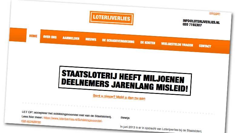Loterijverlies wil verbod op extra trekking Staatsloterij