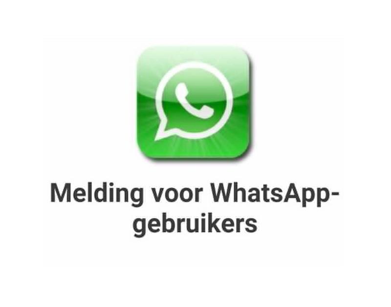 Pas op: Duur abonnement na klikken pop-up 'WhatsApp'