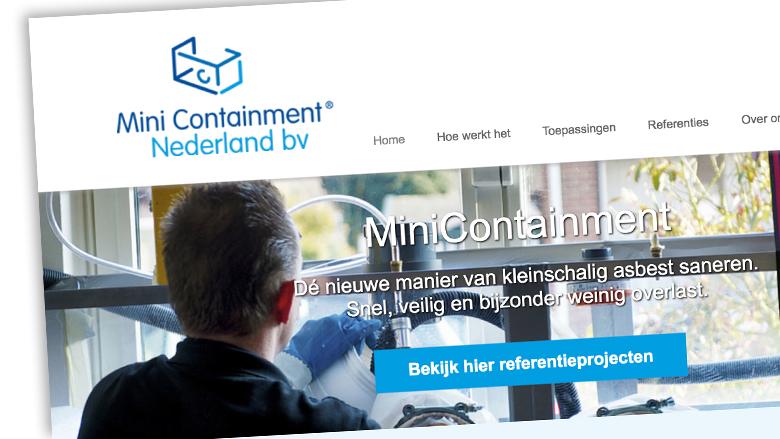 MiniContainment asbestverwijdering veilig? - reactie MiniContainment