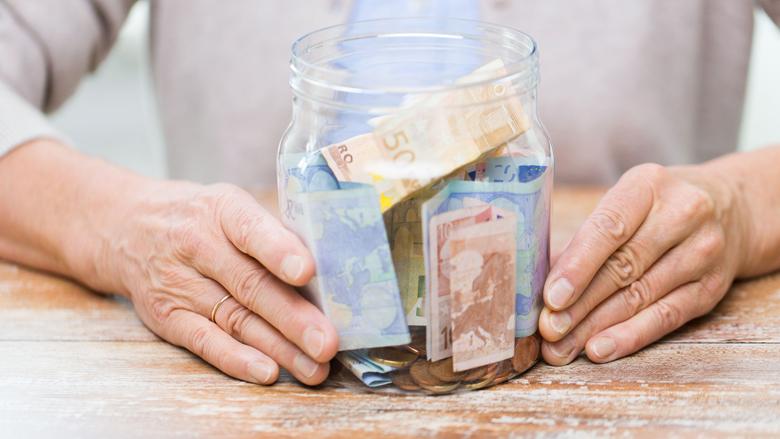 Nederlanders blijven sparen ondanks zeer lage rente