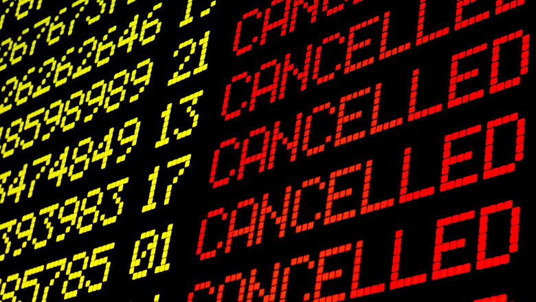 Ten minste 12 Nederlandse Ryanair-vluchten geschrapt