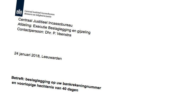 Valse mail over 'gemeentelijke naheffing en achterstand rioolheffing'