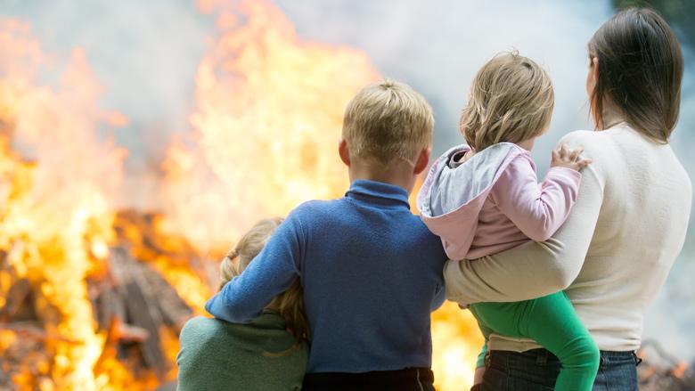 'Nederlander niet voorbereid op brand, gaslek of evacuatie'