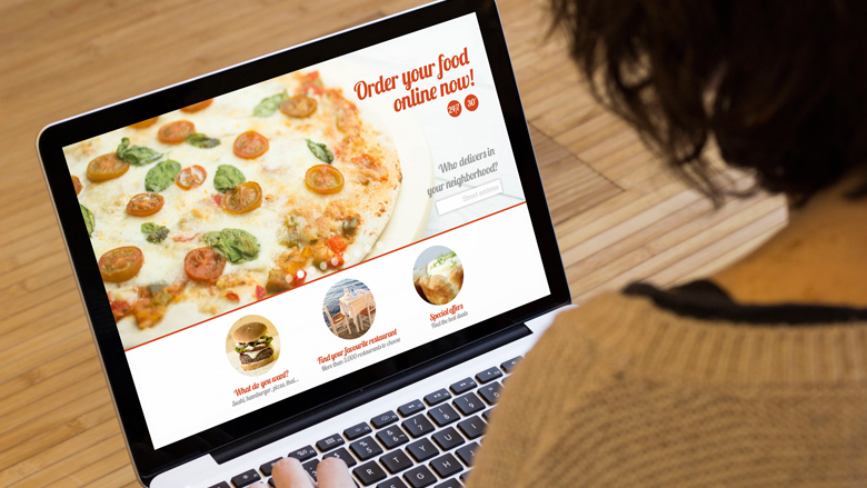 Meer mensen bestellen eten online