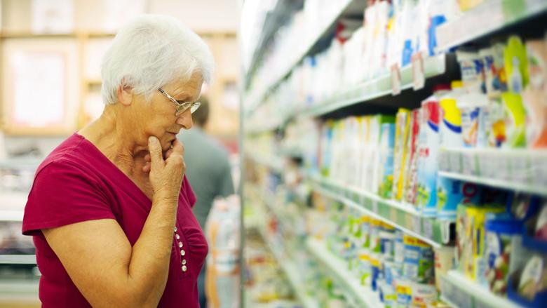 'Ouderen belangrijk in supermarktstrijd'