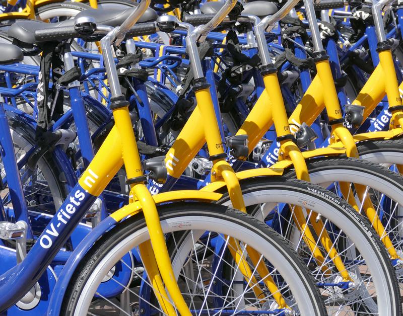 Treinreiziger pakt vaker dan ooit de OV-fiets