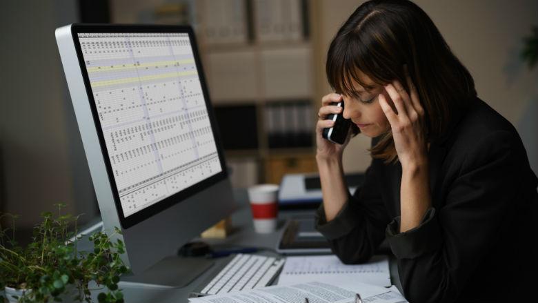 'Werknemer leeft ongezonder door overwerk'