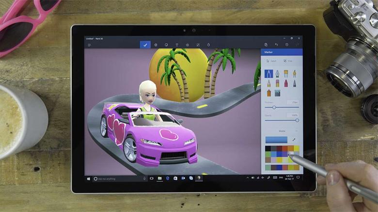 Windows 10 update: Wat heb je aan Paint 3D?