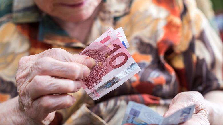 Kans op pensioenverlaging iets kleiner