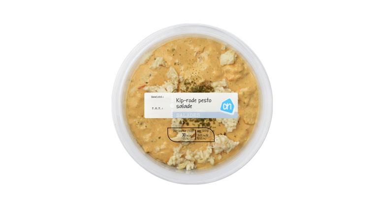 Albert Heijn roept smeersalade met kip en rode pesto terug