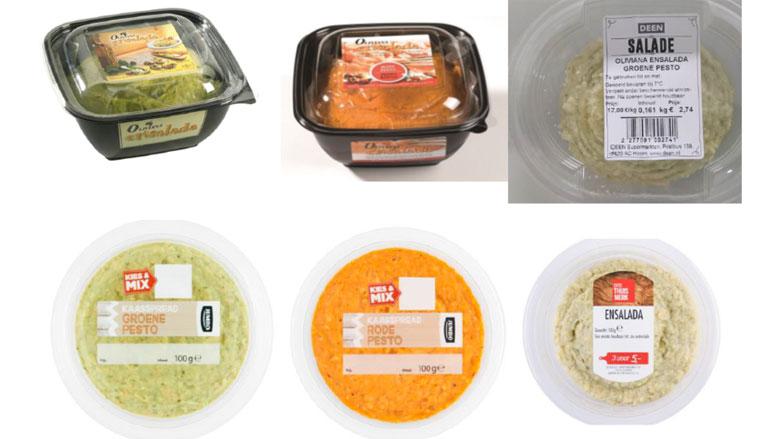 Supermarkten halen diverse kaas- en pestospreads terug vanwege salmonella