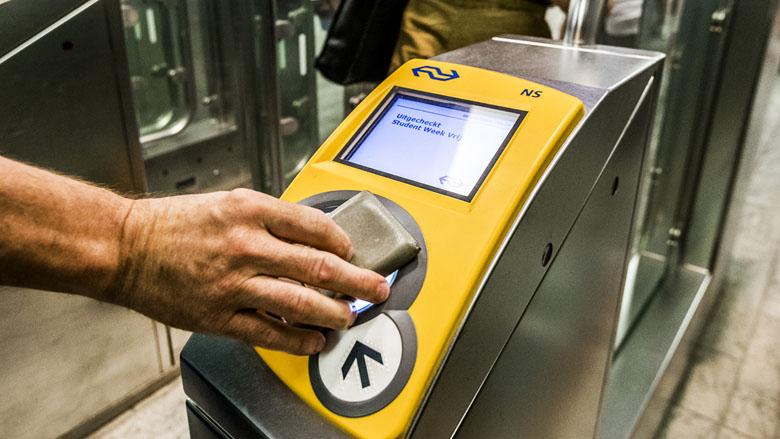 Reizen met OV-chipkaart went steeds meer