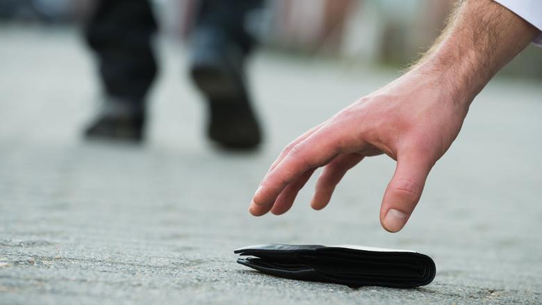 Portemonnee verloren? Denk na voordat je alles blokkeert