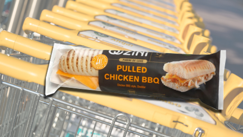 'Panini Pulled Chicken BBQ' van QiZiNi teruggeroepen