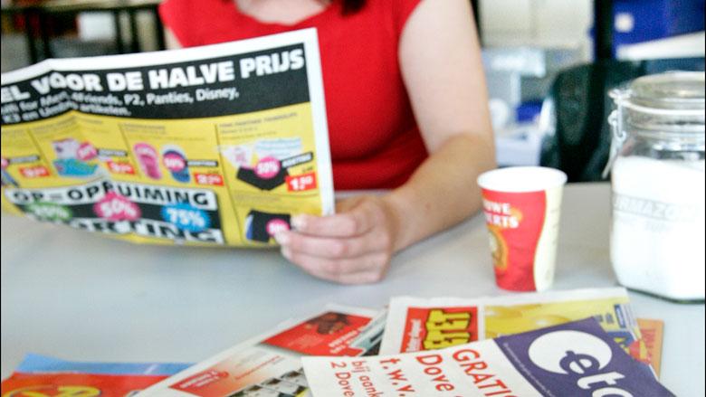 'Invoering ja-ja-sticker gaat folderbranche miljoenen euro's kosten'