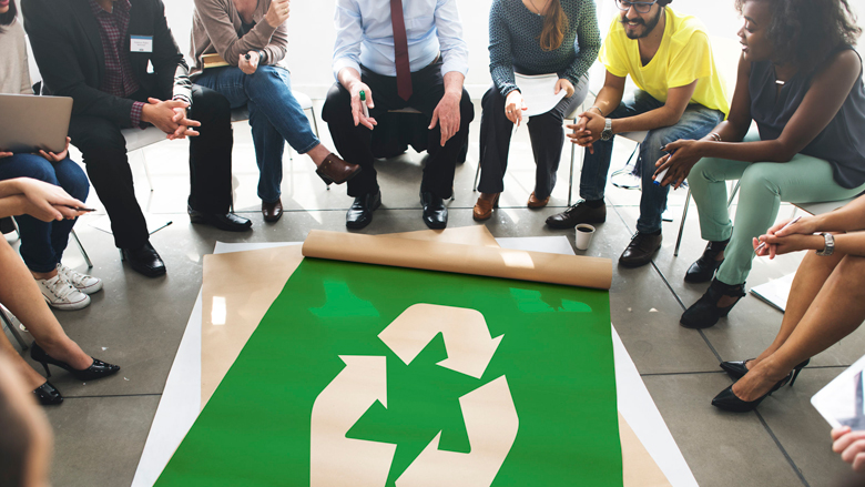 Benelux wil goede voorbeeld geven met hergebruik en recycling