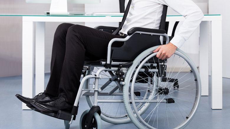 'Plan werkende gehandicapte achteruitgang'