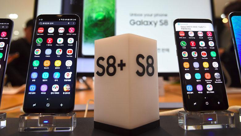 'Scherm Samsung Galaxy S8 breekt opvallend snel'