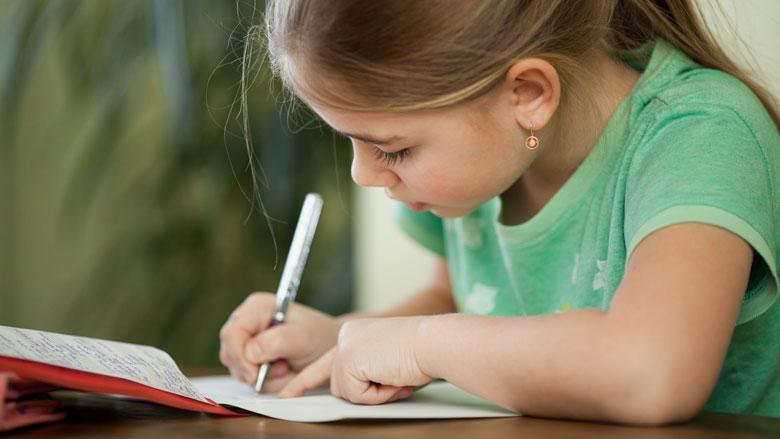 Steeds meer kinderen hebben schrijfproblemen