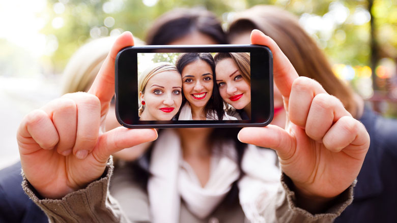 Selfies goed voor hoofdluis