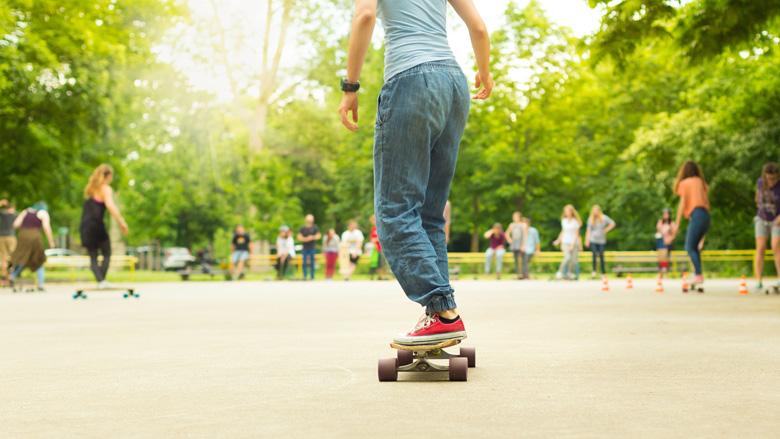 'Skates zijn het vervoermiddel van de toekomst'