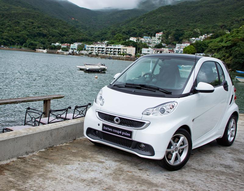 'Piepkleine Smart zuinigste stadsauto'