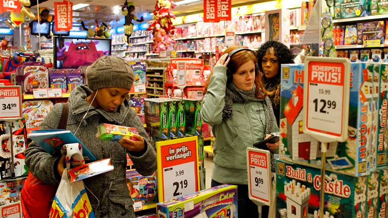 Aantal fysieke speelgoedwinkels neemt af