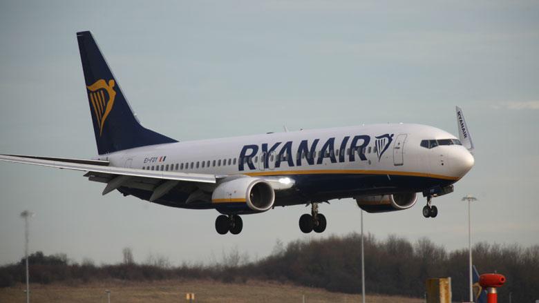 Ook in Duitsland uitval van Ryanair-vluchten door staking