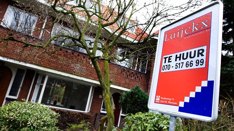 Prijs van huurwoningen in de Randstad minder hard gestegen