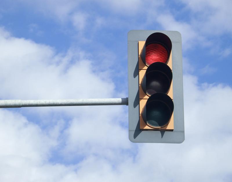 Vanuit de auto communiceren met het stoplicht